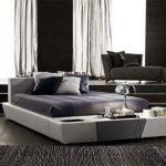 Mobiliario contemporáneo del Dormitorio: Una cama de Planificación