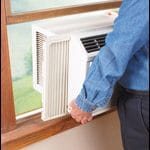 Instalando el aire acondicionado en la ventana