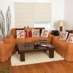 Los cojines decorativos, tamaños y usos