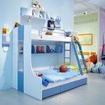 Organizando la habitación del niño de una manera realista!