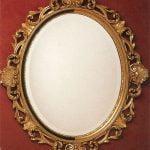 Espejo con marco Oval