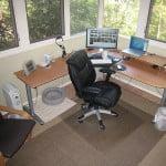 Oficina en la casa