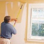 Pintando las paredes interiores