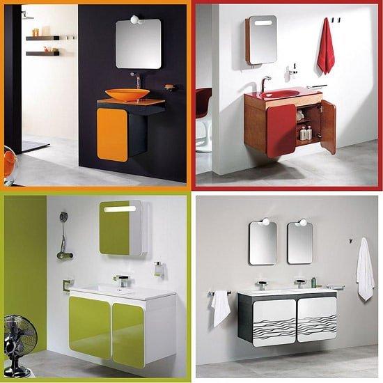 De Que Color Decorar Un Baño:Colores en el cuarto de baño y estados de ánimo – Ideas para Decorar
