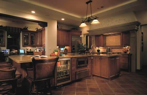 Ilumine las diferentes zonas de su cocina ideas para for Cocinas diferentes