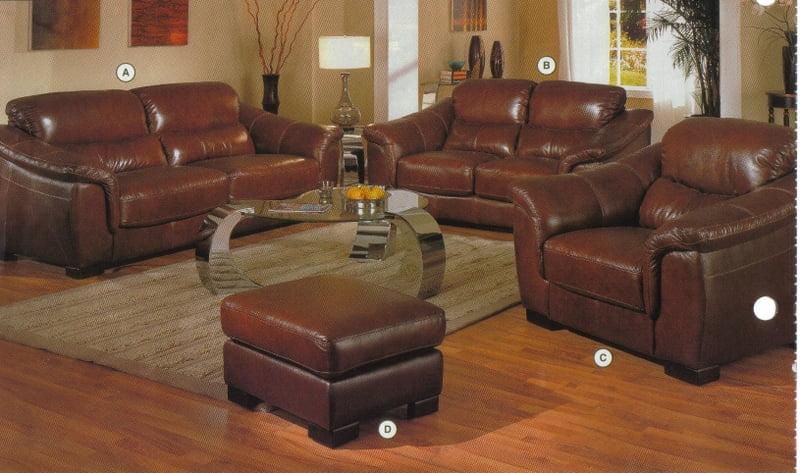 Guía de muebles para sala de cuero - Ideas para Decorar