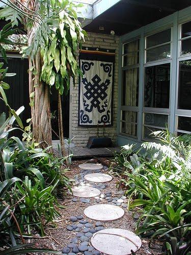 Sugerencias para su patio de piedra ideas para decorar for Ideas para decorar patios