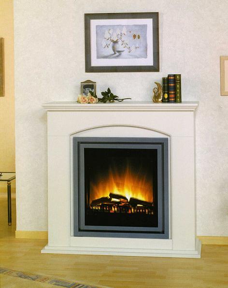 Razones para elegir las chimeneas el ctricas ideas para decorar - Mueble para chimenea electrica ...