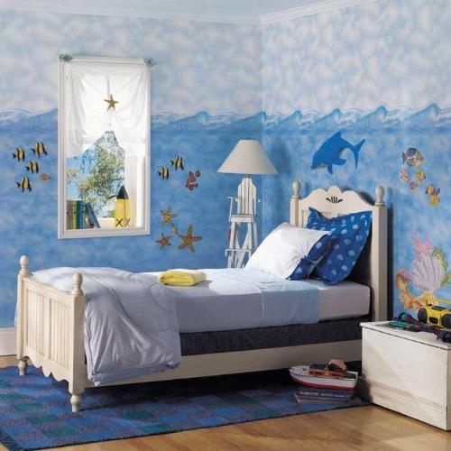 Decore con ambiente marino la habitaci n de su ni o - Habitacion de ninos decoracion ...