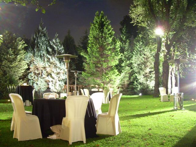 Uso de iluminación exterior para el paisaje de su hogar - Ideas para ...