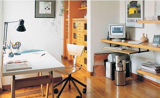 Oficina en casa sepa c mo organizarla ideas para decorar for Casa de arquitecto moderno