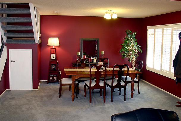 Escoja el correcto color para su comedor ideas para decorar for Colores para pintar un salon comedor