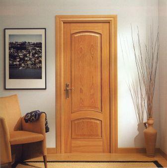 Puertas de interior ideas para decorar for Puertas de roble interior