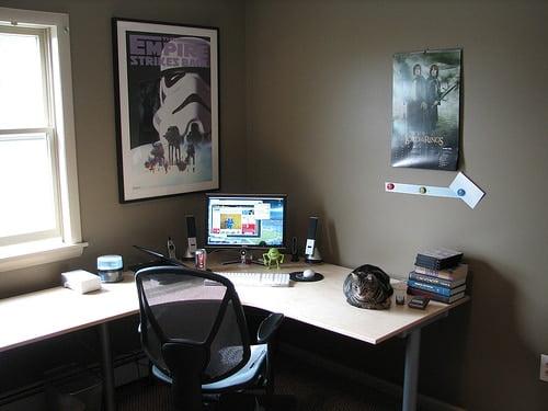 Oficina en casa aspectos a tomar en cuenta ideas para for Decoracion de oficinas en casa