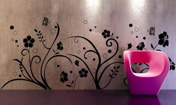 tatuajes de pared una buena alternativa de decoraci n