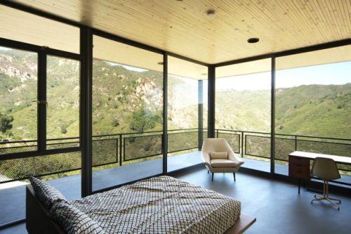 Casa con amplio espacio dise o de bruce bolander ideas for Ventanales grandes de segunda mano