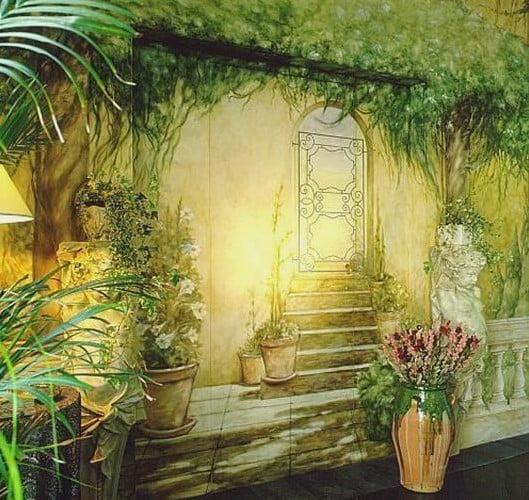 L mina decorativa de pared ideas para decorar for Laminas para cubrir paredes