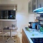 Decoración de la cocina: compacta y elegante