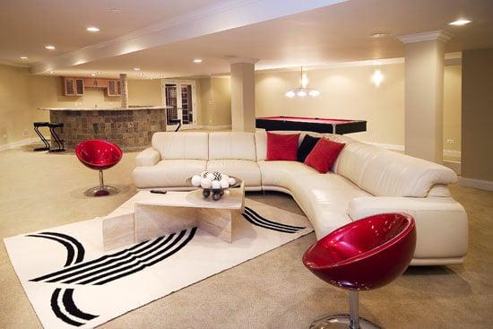 Haga brillar su s tano con ideas para el hogar ideas for Decoracion de hogar moderno