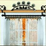 Barras de hierro forjado para sus ventanas