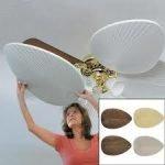 Instalación de un ventilador de techo para los días de verano