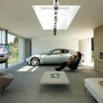 Comvertir el garaje a un rincón acogedor y entretenido