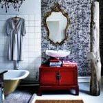 Cómo actualizar un baño a la Antigua «Vintage»