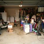 El frío está llegando y  tambien el desorden de su garaje