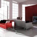El ambiente moderno de diseño de interiores para casa