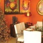 ¿Como a su comedor un ambiente navideño?