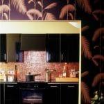 Hacer la diferencia con fondos de pared de cocina