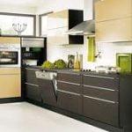 Mirando a través de las ideas de cocina de diseño de interiores