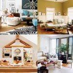 Diseños de interiores pacíficos para casas