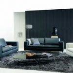 ¿Cuándo se pueden usar muebles Negros en la sala?