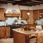 ¿Cómo conseguir una cocina de estilo rustico?