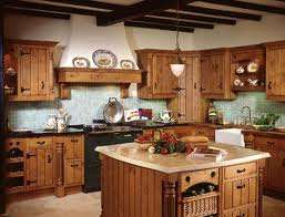 How to get a rustic style kitchen?
