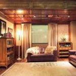 Muebles de oficina tradicionales en casa