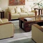¿Cuándo es correcto utilizar el cuero en muebles de sala?