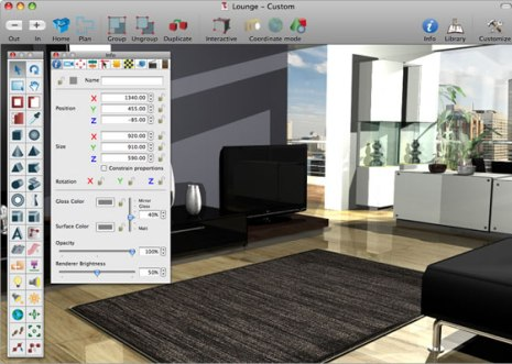 Utilice los programas de dise o de interiores en 3d para Best home interior design software