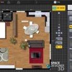 El diseño de interior 3D hace que sea más fácil de planificar