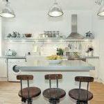 ¿Cómo elegir luces modernas de techo para la cocina?