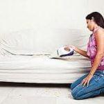 Sea paciente cuando usted está haciendo una limpieza sofá