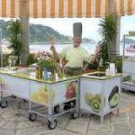 Ideas al aire libre de la cocina para entretener a los invitados