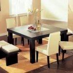 Permanecer a gusto con sus muebles de comedor contemporáneos