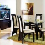 Escoger los muebles de comedor contemporáneo para su hogar