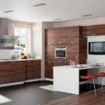 Diseño de la cocina moderna lleva la simplicidad