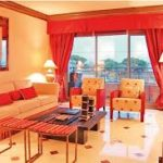 Diseño de una sala cómoda y relajada