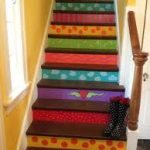 Ideas para los corredores de escaleras pintadas