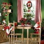 La inspiración para la decoración de la Navidad tradicional