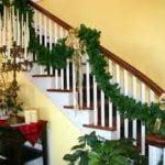 Sugerencias para la decoración de escaleras en Navidad